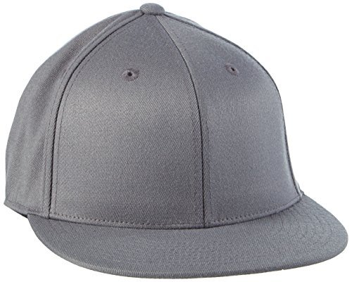 Adult Premium 210 Flexfit Fitted Cap grey Dark grey Size:L/XL by Flex fit (Fit Cap 210 Flex)
