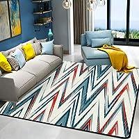HYRL Alfombra nórdica Abstracta geométrica, 3D Impreso Alfombra de Gran tamaño para casa Moderna Vida Alfombra Espesar Sala de Estar alfombras Arte Decor,#14,120160