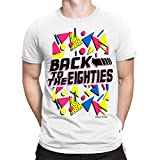 Back To The EIGHTIES Mens T-Shirt FANCY DRESS 80`s Party Weekend Stag Costume