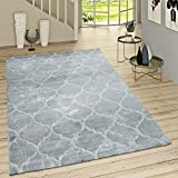 Paco Home Kurzflor Teppich Modern Marokkanisches Muster Vintage Style Ombre Look...