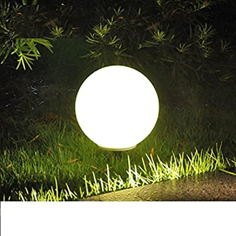 40 centimetri di ricarica a distanza all'aperto palle di decorazione palla luce luci parco paesaggistico giardino impermeabili piscina luci
