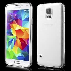 iProtect TPU Gel Schutzhülle Samsung Galaxy S5 ultra dünn transparent