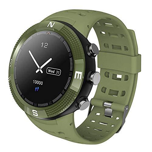 Zerone Fitness Tracker Sportuhr GPS Outdoor Smartwatch Wasserdicht Armband Schrittzähler
