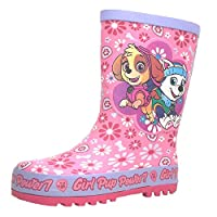 Girls Paw Patrol Wellies - Pink and Blue