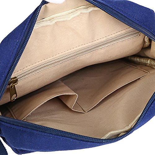Keshi Leinwand Cool Damen Handtaschen, Hobo-Bags, Schultertaschen, Beutel, Beuteltaschen, Trend-Bags, Velours, Veloursleder, Wildleder, Tasche Mehrfarbig 15