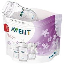 Philips AVENT Microwave Steam Steriliser Bags, Pack of 5