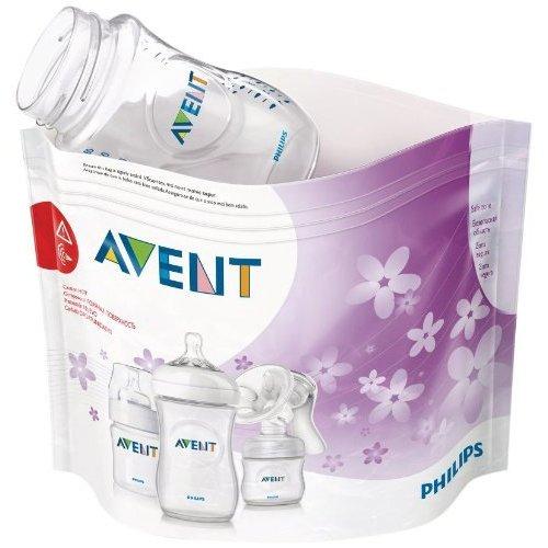 Philips Avent SCF297/05 Buste per Sterilizzazione a Vapore nel Forno