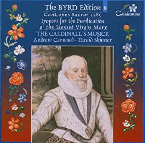 Byrd: Cantiones sacrae 1589; Propers for the Purification of the Blessed Virgin Mary