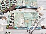 Creative Tops Tischset mit Korkunterseite, Meeresmotiv, 6Stück