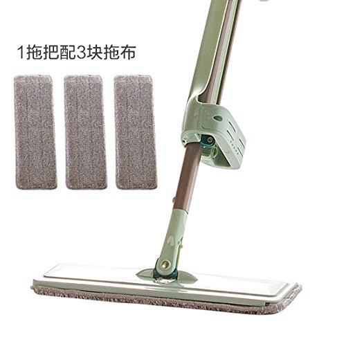 LIUXINDA-WJ 2018 Home LatestNo clean Flat mops Hand wash-Free Wooden Floor mops Household, and The -