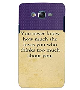 PrintDhaba Quote D-2645 Back Case Cover for SAMSUNG GALAXY J5 (Multi-Coloured)