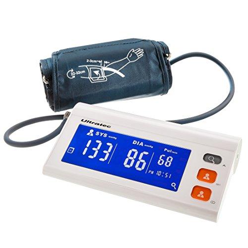 Ultratec Blutdruckmessgerät Helping Hands, Smart Blood Pressure Monitor, für 2 Benutzer geeignet, inklusive App