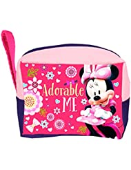 Trousse de toilette enfant fille Disney Minnie Rouge/rose 23x17cm