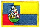 Flaggen Aufnäher Patch Slowakei - Nitra Fahne Flagge