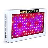 MARS HYDRO LED Grow Lampe 600W LED Pflanzenlampe Vollspektrum für Hydroponik Zimmerpflanzen Wachstum Samen Knospe Pflanze Blumen und Gemüse