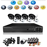 Biaba Collection Durable & Safety 4 Channel CCTV DVR Security Recording System 1280*1024 5MP IP TVI CVI Xmeye AHD DVR All In One H.264 Video Recorder For 1280*1024 AHD CCTV Camera Recording Resolution 1280*1024