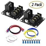 TopDirect 2Pack Power Module MOS Mosfet Tube Erweiterungskarte Hochstrom beheiztes Bett-Leistungsmodul RAMPS 1.4 für 3D Drucker
