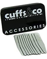 10 Piece Metal Collar Stiffeners Set | Cuffs & Co