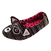 Lora Dora Womens Novelty Animal Ballet Slipper Socks