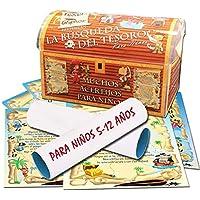 Búsqueda del tesoro - elegid los acertijos – 5-12 años - para fiestas de cumpleaños – juegos para niños