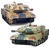 YKS Tanques Radiocontrol con Sistema de Batalla por Infrarrojos, Juego de 2