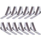 eBoot 12 Pack Clips de Acero Inoxidable Mantel Pinza para Mantel Cubierta