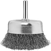 Bosch 2 609 256 517 - Cepillos de vaso para taladradoras, alambre ondulado, 70 mm