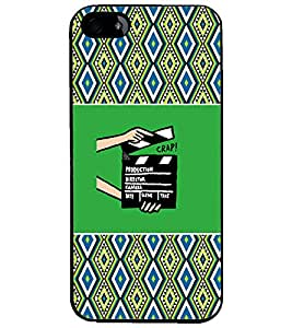 PrintDhaba Film D-4678 Back Case Cover for APPLE IPHONE 4S (Multi-Coloured)