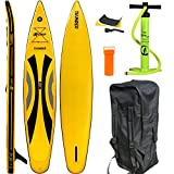 EXPLORER SUP THUNDER 380 x 71 x 15 cm Inflatable Isup aufblasbar Stand Up Paddle Board Pumpe Surfboard Aqua