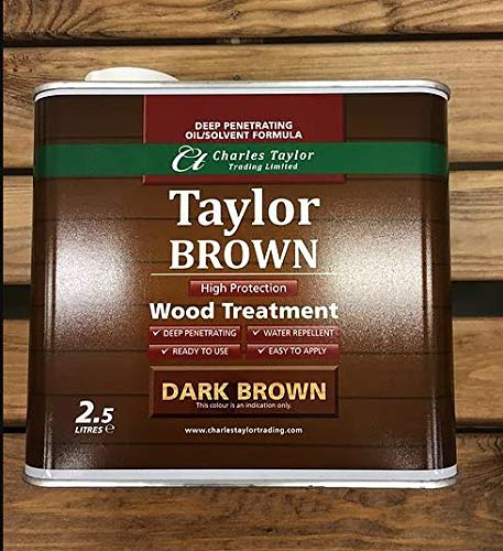 Charles Taylor Trading 2.5 litre Wood Preservative for Hand Made Wooden Garden Furniture