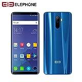IrahdBowen ELEPHONE U Pro 4G teléfono Android Smartphone, Cámara 13mp,5.99 Pantalla Flexible hiperbólica,6 GB RAM 128 GB ROM,Reconocimiento Facial