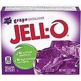 Jell-o grape 85 g