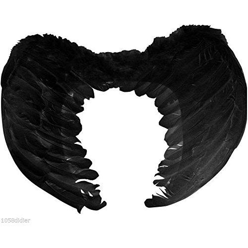 Kostüm Noir Ange - Unbekannt aptafetes-ac0055--Paar Flügel-Feder