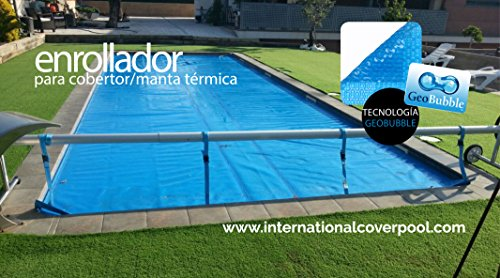 Solar Cover Reel For Pool 8,7 Meter (Made Of Stainless Steel and Aluminum)