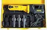 REMS Pressmaschine Power Press SE + 3 Presszangen Pressbacken M oder V +Koffer E