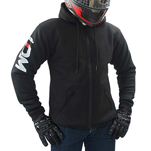 Price comparison product image LDM Street-R Kevlar Armoured Motorcycle Hoodie DuPontTM Kevlar® lined CE Armoured (M (40-41.5 inches))