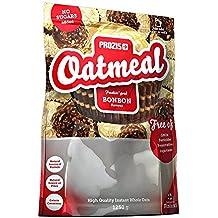 Prozis Oatmeal 1250g - Farina D'Avena, Cereali Arricchiti con Proteine, Carboidrati di Alta Qualità e Fibre Sazianti - Al Gusto Brownie al Aioccolato - Adatto a Vegetariani - Fa Bene al Cuore - 12 Porzioni