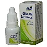 3 Packs of Olive Oil Ear Wax Drops Softens and Removes 10ml Eardrops