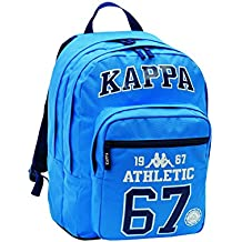MOCHILA KAPPA BIG PLUS ATHLETIC 31X43X21 CM AZUL