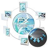 atFolix Schutzfolie für Homtom C8 Folie - 3 x FX-Curved-Clear Flexible Displayschutzfolie für gewölbte Displays