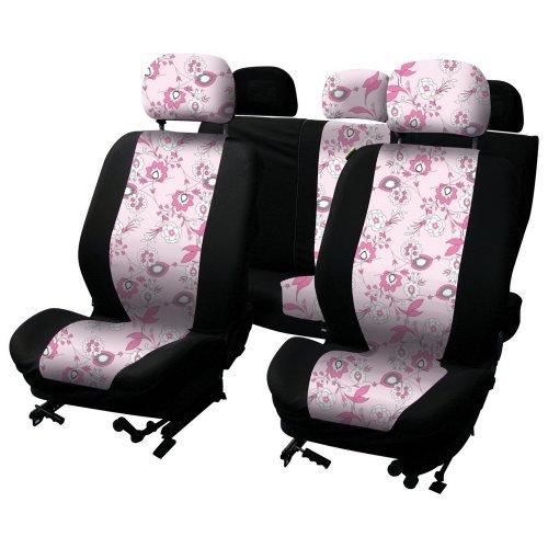Schonbezug Pink Flower