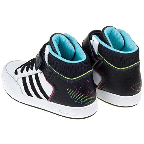 adidas - Varial Mid, Sneaker Unisex – Bambini Nero-Bianco