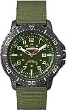 Timex T49944 Orologio Analogico da Polso da Uomo, Nylon, Verde