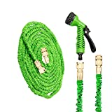 Best Hose 100 Feet Extra Durables - 100ft Expanding Garden Hose Pipe - Running Bulls Review
