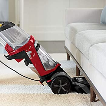 BISSELL ProHeat 2X Revolution   Upright Cleaner   Carpets Dry in About 30 Minutes   Powerful Suction for Professional Results   18583, Plastic, 800 W, 4.5 liters, Titanium/Red Berends