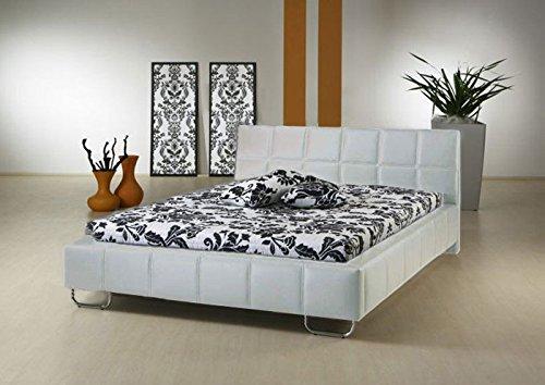 Muebles Bonitos - Cama de diseño modelo Sofia en color blanco 160x190cm