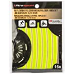 Ultrasport Reflective Wheel Rim Stick...