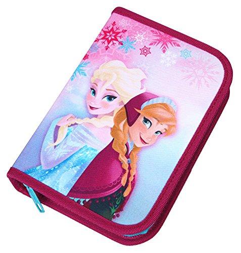 Scooli FRQA0440 - Schüleretui Disney Frozen mit Stabilo - Markenfüllung, 30 teilig