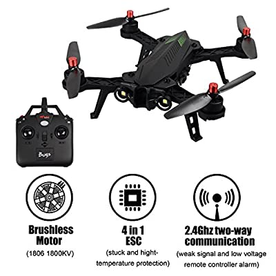 MJX B3 Bugs Standard Quadcopter Drone Camera Carrier Drone Bidirectional 2.4G 4CH 6-Axis Gyro Camera Carrier Drone