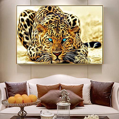 DOUYUAN Carteles Impresiones Guepardo Dorado Animales